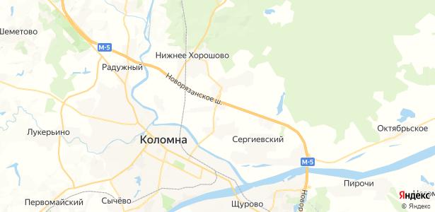 Амерево на карте