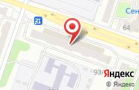 Схема проезда до компании Азъ в Рыбинске