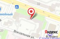Схема проезда до компании Славяночка в Рыбинске