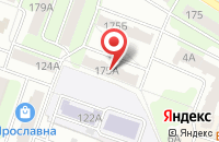Схема проезда до компании Псб-Сервис в Рыбинске