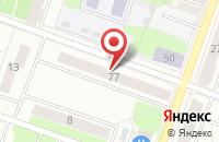 Схема проезда до компании Технокомерц в Рыбинске