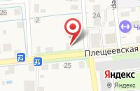 Схема проезда до компании Автосервис в Подольске