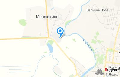 Местоположение на карте пункта техосмотра по адресу Московская обл, Зарайский р-н, п Сельхозтехника