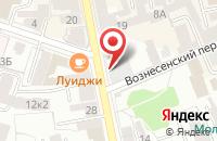 Схема проезда до компании Славия в Рыбинске
