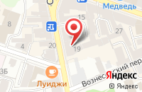 Схема проезда до компании Капитал в Рыбинске