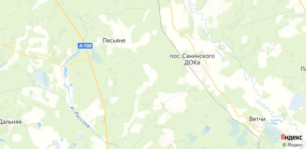 Кашино на карте