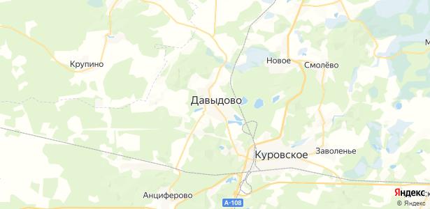 Давыдово на карте