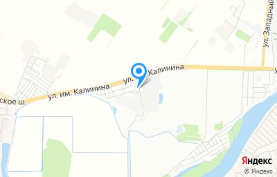 Местоположение на карте пункта техосмотра по адресу г Краснодар, ул им. Калинина, д 58/1