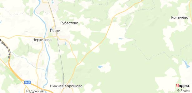 Шелухино на карте
