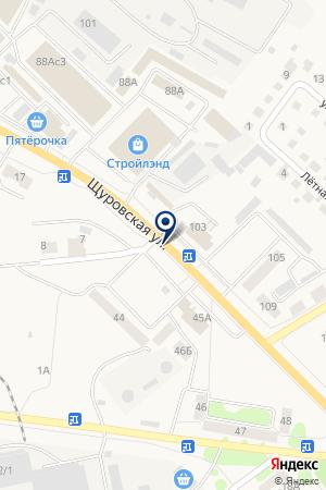 АЗС СОТОВ К.В. на карте Коломны