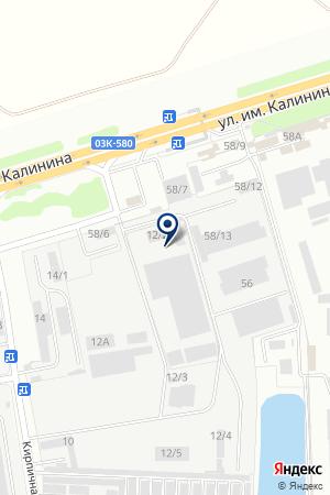 ТФ АНТОНИНА на карте Краснодара