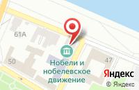 Схема проезда до компании Согласие-2 в Рыбинске