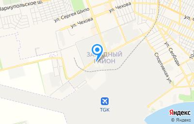 Местоположение на карте пункта техосмотра по адресу Ростовская обл, г Таганрог, ул Поляковское Шоссе, д 39, кв 1