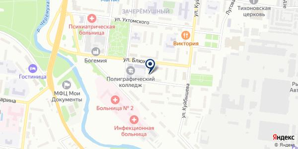 АПТЕКА АЛГОЛЬ на карте Рыбинске