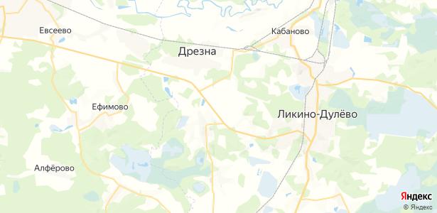 Большое Кишнево на карте