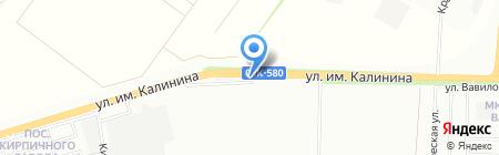 Кровельный центр на карте Краснодара