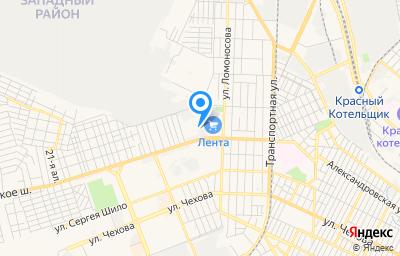 Местоположение на карте пункта техосмотра по адресу Ростовская обл, г Таганрог, ул 2-я Советская, д 74В