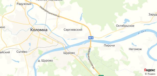 Пестриково на карте