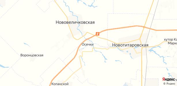Осечки на карте