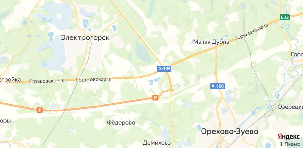 Ожерелки на карте