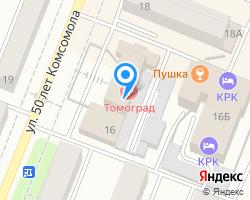 Схема местоположения почтового отделения 152040