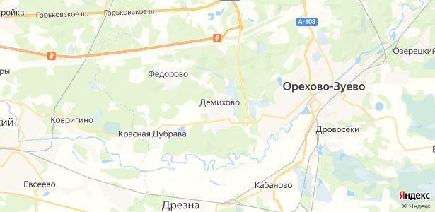 Демихово на карте