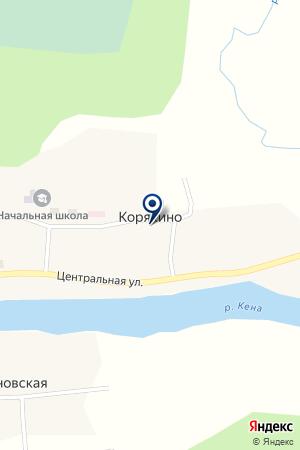 КЕНОРЕЦКАЯ ШКОЛА СРЕДНЕГО ОБЩЕГО ОБРАЗОВАНИЯ на карте Плесецка