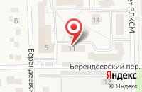 Схема проезда до компании Маркус Филм в Переславле-Залесском