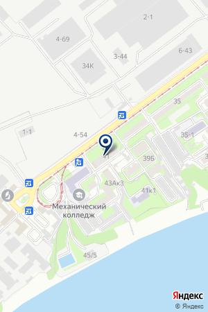АВТОМОБИЛЬНЫЙ СПОРТИВНЫЙ КЛУБ на карте Таганрога