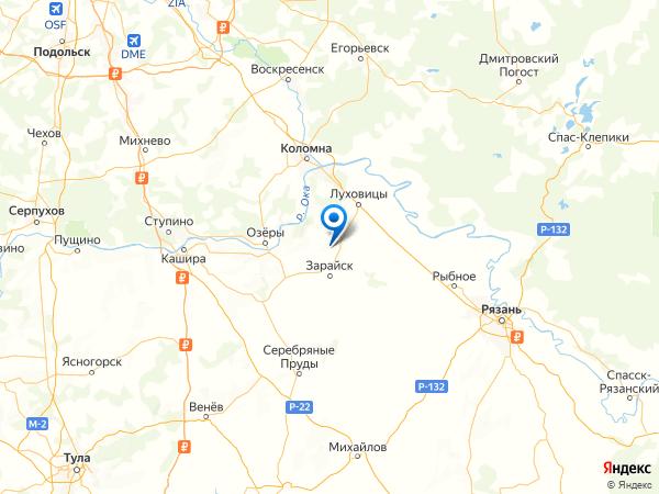 деревня Пенкино на карте