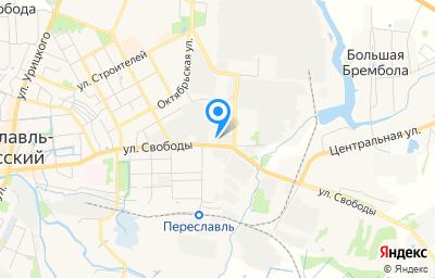 Местоположение на карте пункта техосмотра по адресу Ярославская обл, г Переславль-Залесский, ул Свободы, д 107А