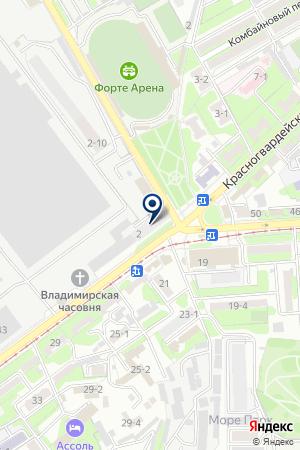 АВТОЦЕНТР HYUNDAI на карте Таганрога