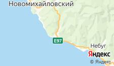 Отели города Ольгинка на карте
