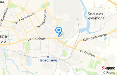 Местоположение на карте пункта техосмотра по адресу Ярославская обл, г Переславль-Залесский, ул Магистральная, д 2