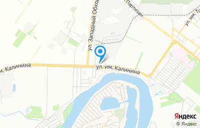 Местоположение на карте пункта техосмотра по адресу г Краснодар, ул им. Калинина