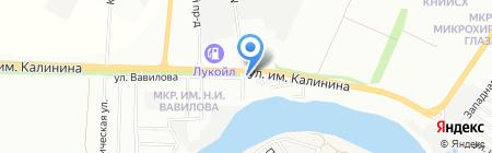 Пристань на карте Краснодара
