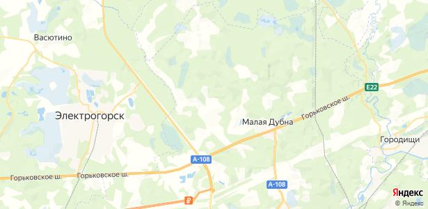 Большая Дубна на карте