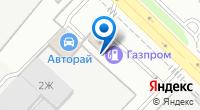 Компания АЗС Газпром на карте