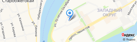 Детский сад №232 на карте Краснодара