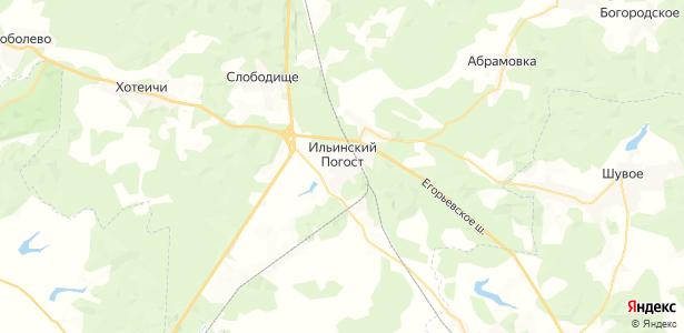 Ильинский Погост на карте