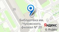 Компания Юность на карте