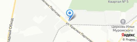 Двери вашему дому на карте Краснодара