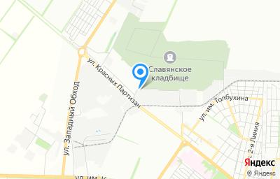 Местоположение на карте пункта техосмотра по адресу г Краснодар, ул Круговая, д 54