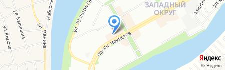 Мов на карте Краснодара