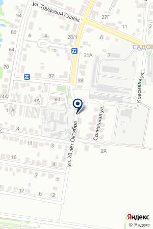 СРЕДНЯЯ ОБЩЕОБРАЗОВАТЕЛЬНАЯ ШКОЛА № 18 на карте Тимашевска