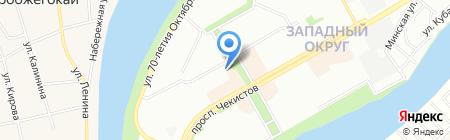 Сезам на карте Краснодара