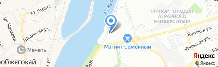 Авант-Юг на карте Краснодара