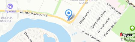 Всё для бани и сауны на карте Краснодара