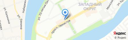 Джевел Тур на карте Краснодара