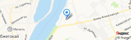 Изумрудный на карте Краснодара